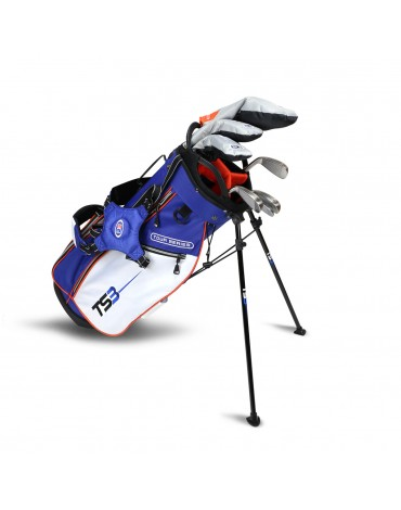 U.S.KIDS TOUR SERIES PACK STARTERSET - SHAFT GRAPHITE (Bag + 7 clubs) RH- Spain : can be sold in DECATHLON only