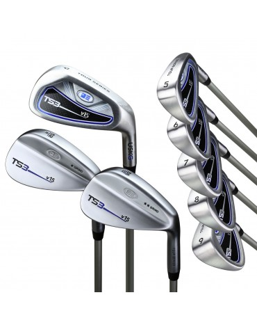 U.S.KIDS TOUR SERIES PACK IRONSET 8 CLUBS - SHAFT GRAPHITE (without bag) RH- Spain : can be sold in DECATHLON only