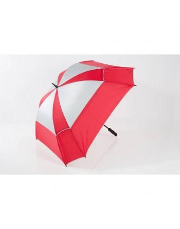 Jucad parapluie windproof téléscopique
