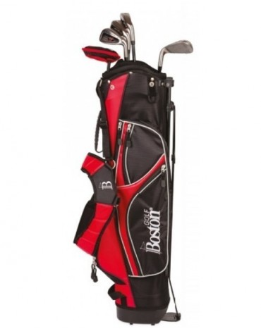 "Boston Pack adulte Pitch & Putt 6"" 1/2 série (Sac + 5 clubs)"