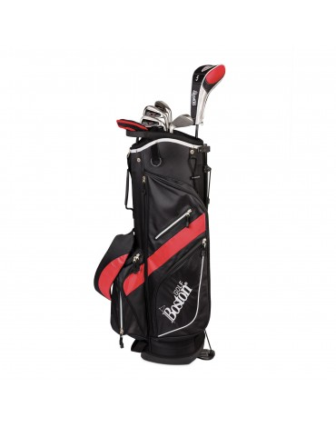 """Boston Pack adult DELUXE 8.5"""" 1/2 serie (Bag + 8 clubs)"""