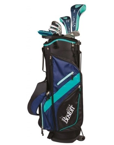 "Boston Pack adult DELUXE 8.5"" 1/2 serie (Bag + 8 clubs)"