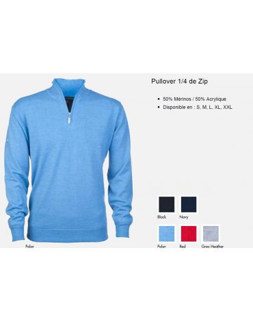 Greg Norman Pull 1/4 ZIP