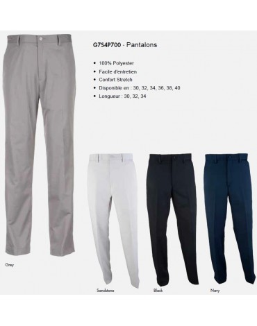 Greg Norman Pantalon - Homme - no disponible en España/Portugal