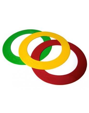 EYELINE GOLF Lot de 3 anneaux d'entrainement petites tailles 38CM