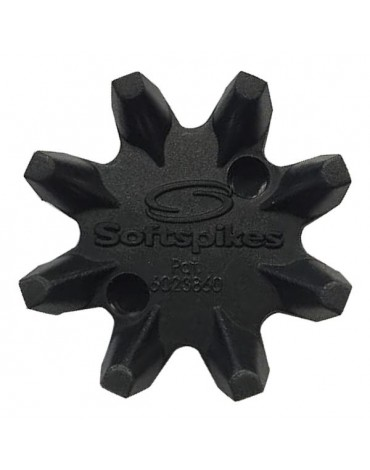 "Softspikes 18 tacos Black Widow rosca ""Q LOCK"""