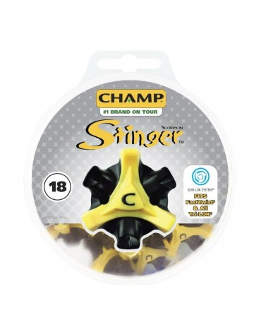 "Champ 18 spikes Stinger Fixation ""Slim-Lock"""