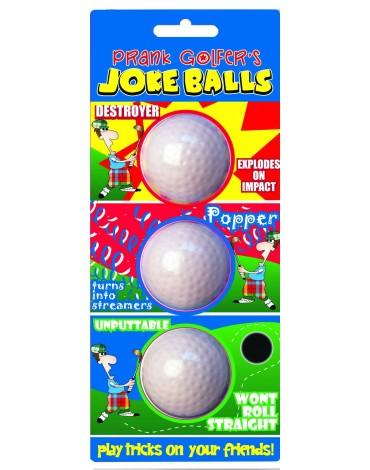 Longridge balles farceuses (x6)