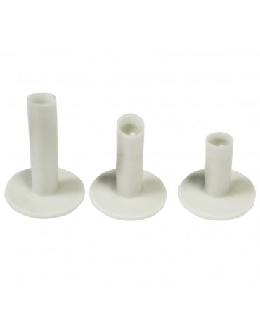 Longridge pack of 3 rubber tees (x3)