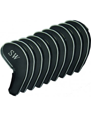 Longridge magnetic headcovers for irons ( 9 pieces)