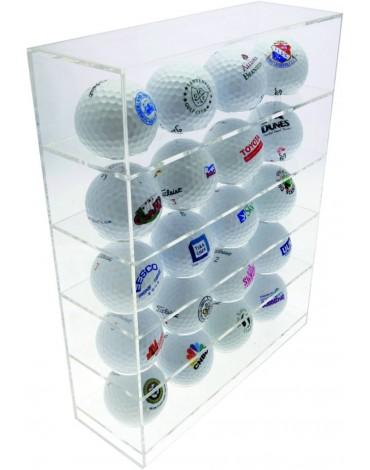 Longridge perspex display rack - 20 balls