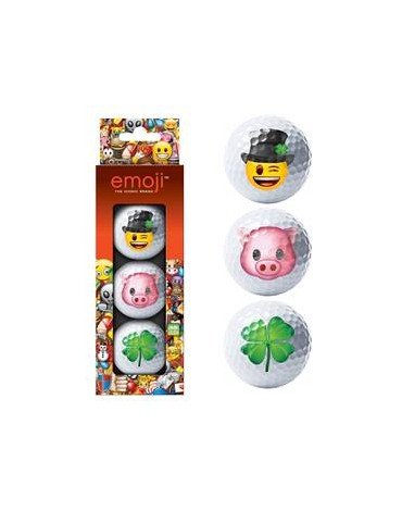Emoji Pack of 3 balls