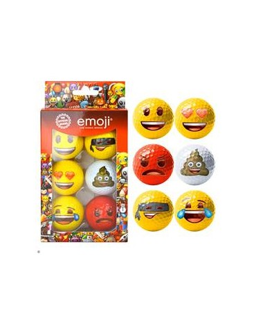 Emoji Pack of 6 balls