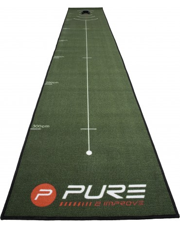 PURE2IMPROVE Putting mat 4 m