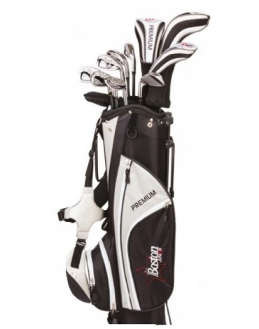Boston Junior pack premium Complete (Bag + 11 clubs) - teenager