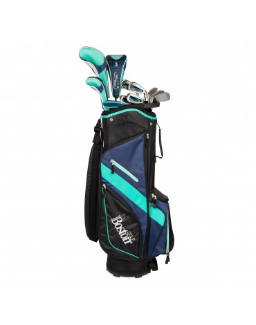 "Boston Pack adult COMPLETE 9"" (Bag + 11 clubs)"