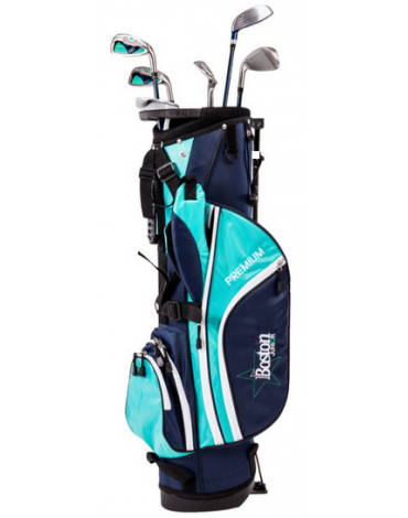 Boston Junior pack premium 1/2 serie (Bag + 6 clubs)