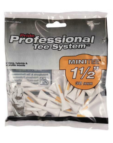 """Wooden tees PTS 1-1/2"""" (x25)"""