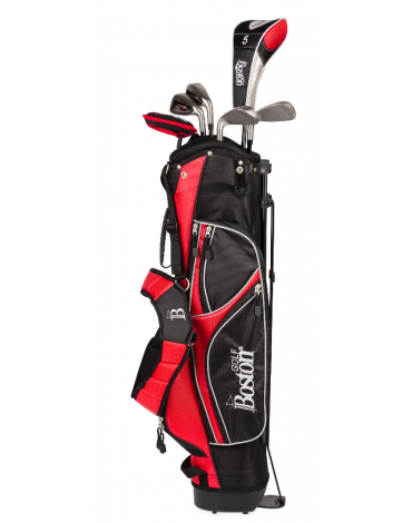 "Boston Pack adult 1/2 KIMBA 6"" 1/2 serie (Bag + 6 clubs)"