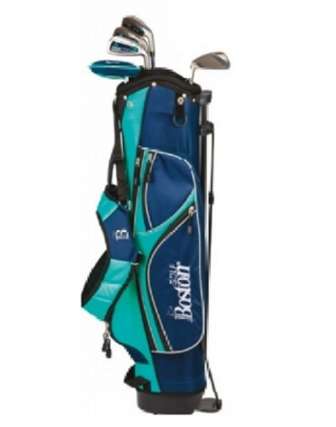 "Boston Pack adult Pitch & Putt 6"" 1/2 serie (Bag + 5 clubs)"
