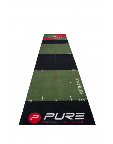 PURE2IMPROVE Putting Mat 3.0
