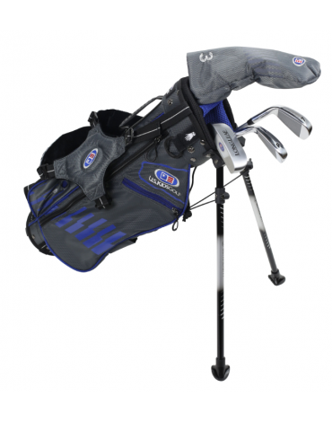 U.S.KIDS ULTRALIGHT PACK US45 (Bag + 4 clubs) / 2020 - Spain : can be sold in DECATHLON only