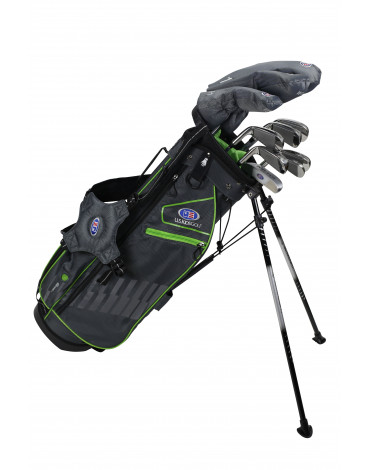 U.S.KIDS ULTRALIGHT PACK US57 (Bag + 7 clubs) / 2020 - Spain : can be sold in DECATHLON only