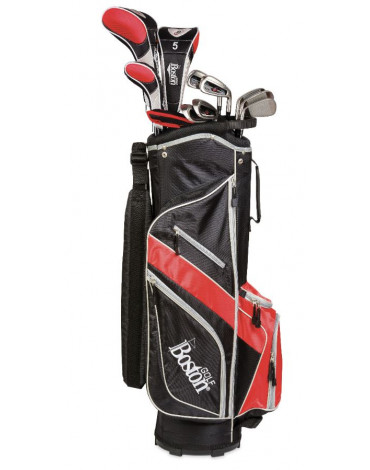 """Boston Pack adult COMPLETE 9"""" (Bag + 11 clubs)"""