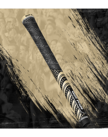 Golf pride Grip multi-compound Team - Standard - Black & Gold