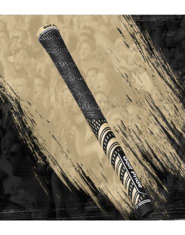 Golf pride Grip multi-compound Team - Estándar - Negro y Oro
