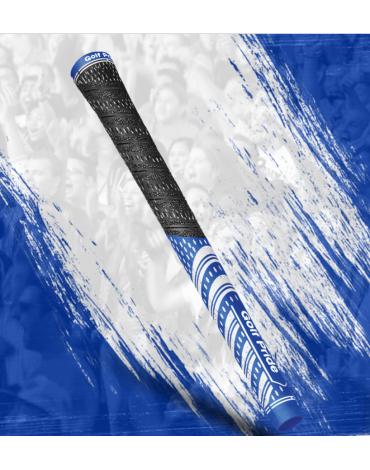 Golf pride Grip multi-compound Team - Midsize - Azul y Blanco