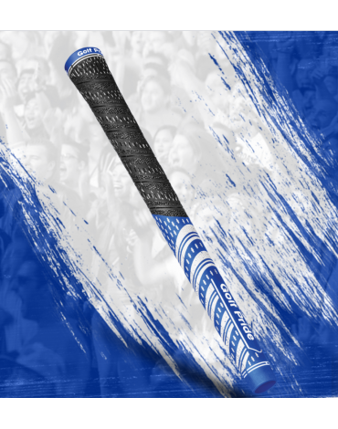 Golf pride Grip multi-compound Team - Estándar - Azul y Blanco
