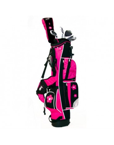 Boston Junior set classic 3 talla 3 (bolsa + 6 palos)